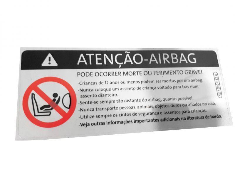 ETIQUETA AIRBAG