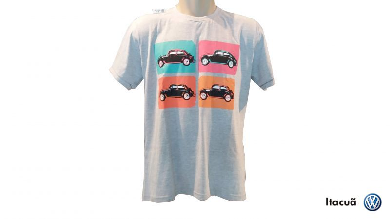 Camiseta Vintage Authentic Fusca Feminin